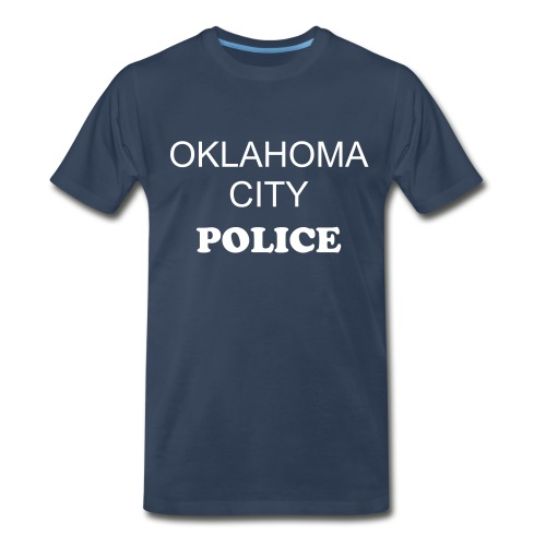 OKLAHOMA CITY POLICE - Men's Premium T-Shirt