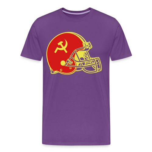 commieFootball - Men's Premium T-Shirt