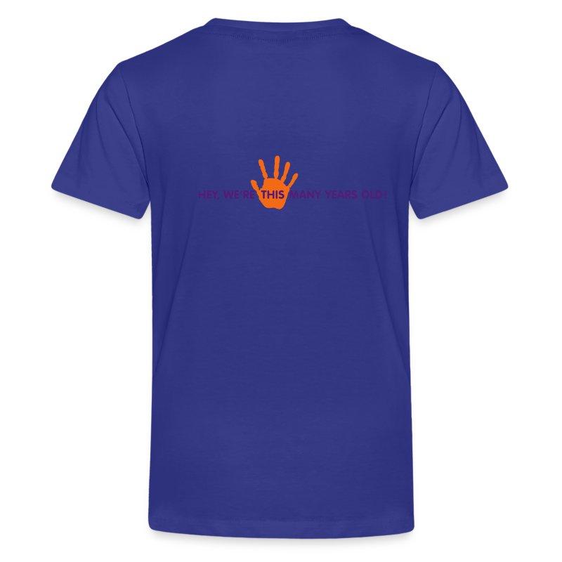 fifth_anniversary_tshirt_logo - Kids' Premium T-Shirt