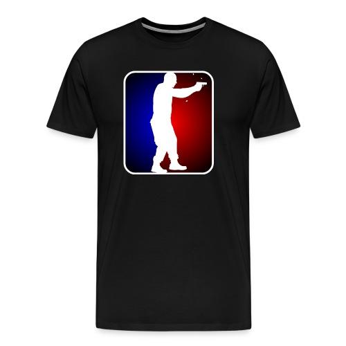 Major League Pistol - pick-a-color tee - Men's Premium T-Shirt