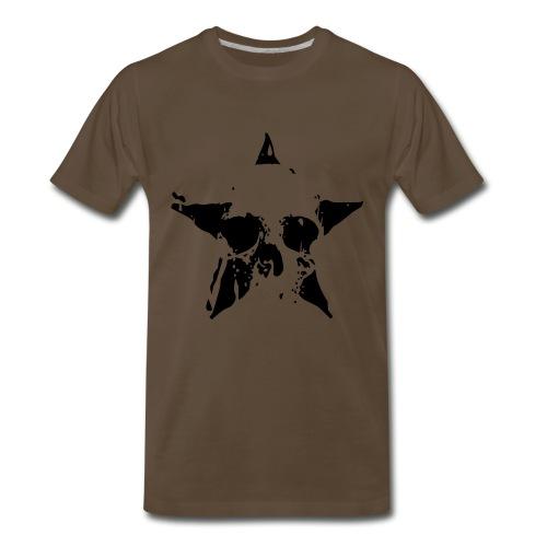 Skull Star T-Shirt - Men's Premium T-Shirt