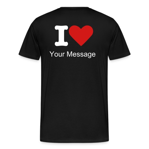 I Luv ? - Men's Premium T-Shirt