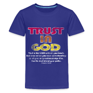 Kids' Shirts ~ Kids' Premium T-Shirt ~ Christian Kids T-Shirt, Trust in God, Bible Verse