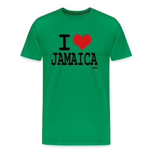 I Love Jamaica - Men's Premium T-Shirt