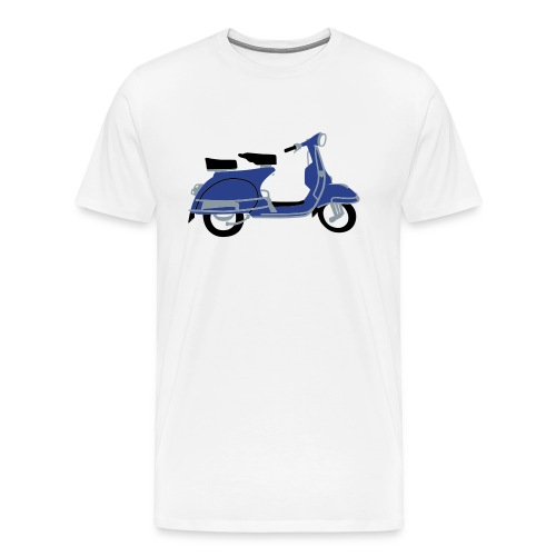 Mens Scooter Tee - Men's Premium T-Shirt