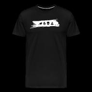 T-Shirts ~ Men's Premium T-Shirt ~ Men's Heavyweight T-Shirt with white graphic