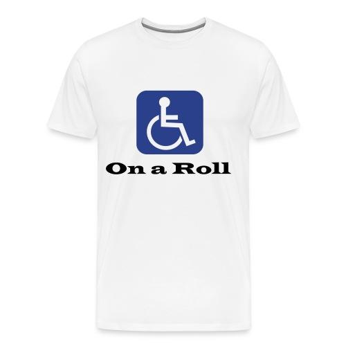 On A Roll- SS Men - Men's Premium T-Shirt