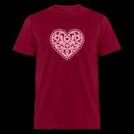 T-Shirts ~ Men's T-Shirt ~ Heart Design
