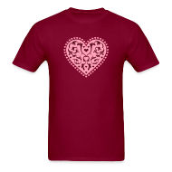 T-Shirts ~ Men's T-Shirt ~ Heart Design