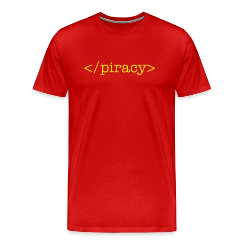 End Piracy - Men's Premium T-Shirt
