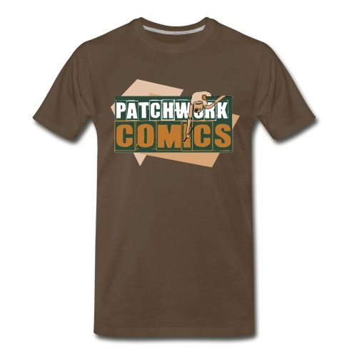 Patchwork Comics Lil Stitches Logo T-Shirt - Men's Premium T-Shirt
