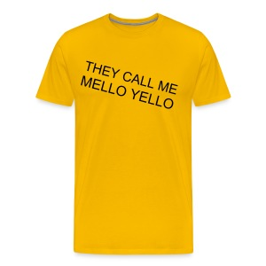 MELLO YELLO TEE - Men's Premium T-Shirt