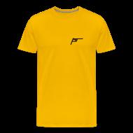 T-Shirts ~ Men's Premium T-Shirt ~ p-tc Yellow Tee