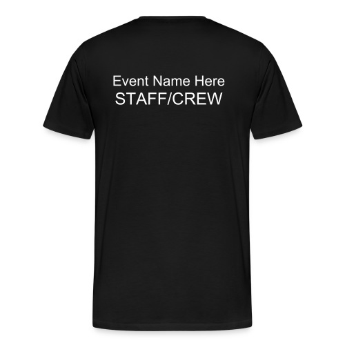 Custom staff/crew shirt - Men's Premium T-Shirt