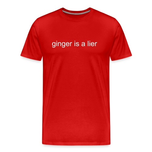 ginger shirts - Men's Premium T-Shirt