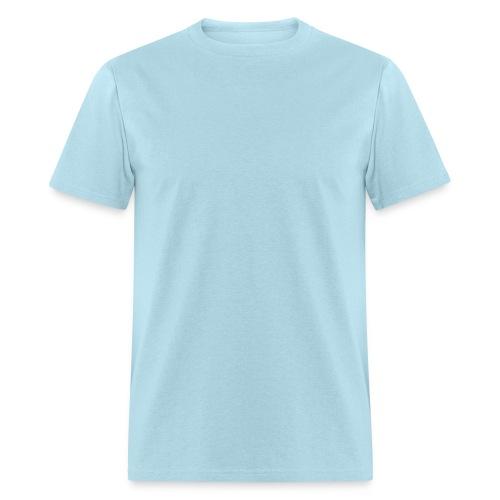 Men's Heavyweight T-Shirt Sky Blue - Men's T-Shirt