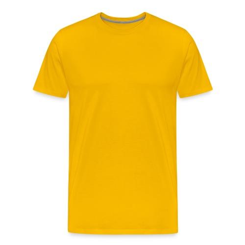 Men's Heavyweight T-Shirt Yellow - Men's Premium T-Shirt