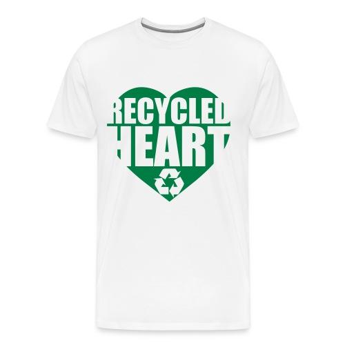 Recycled Heart - Men's Premium T-Shirt