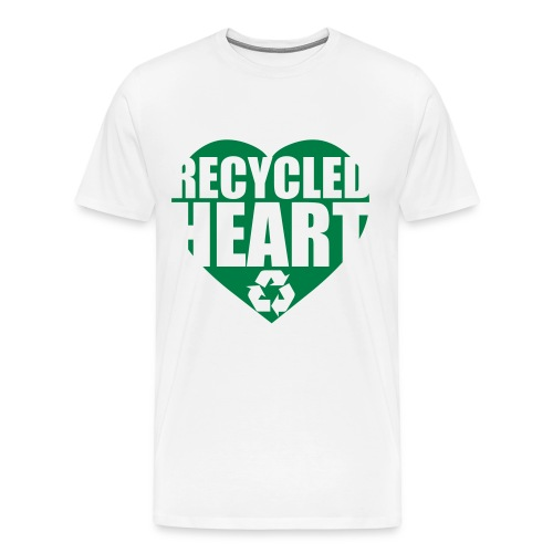 Recycled Heart - Men's Premium T-Shirt