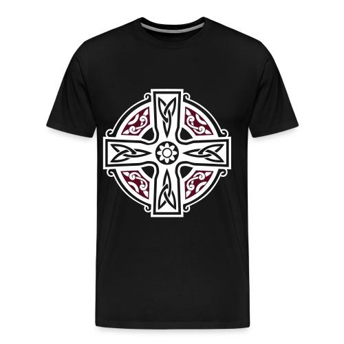 symbol with saying on back - Men's Premium T-Shirt