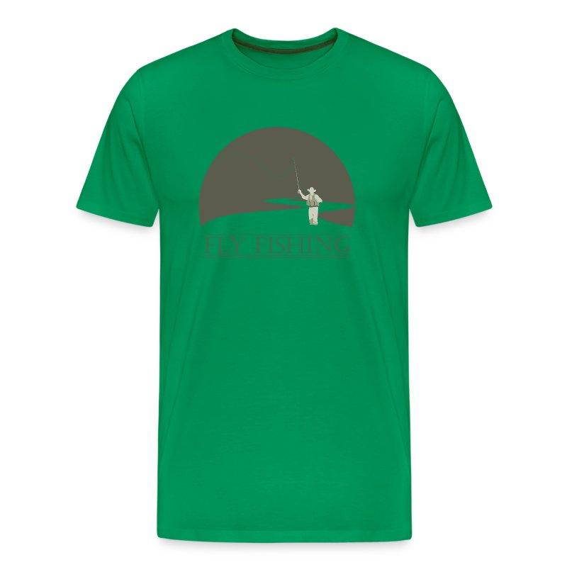 Fly Fisherman 1 Fly Fishing Design T Shirt Spreadshirt
