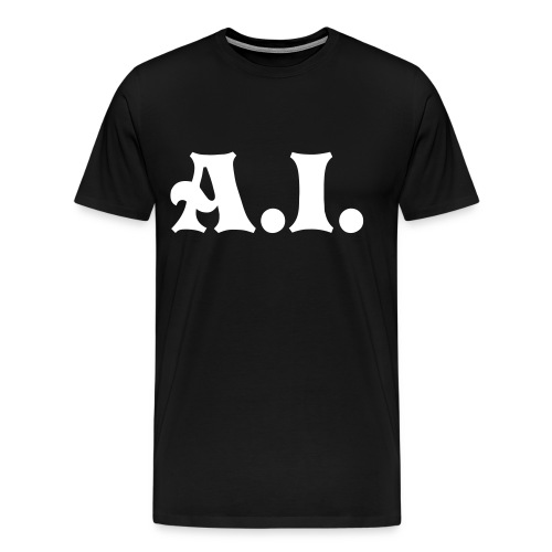 A.I. Black Mens shirt - Men's Premium T-Shirt