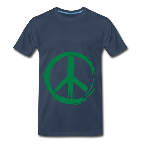 Creature Wear- Men's 3XL T-Shirt Peace - Men's Premium T-Shirt