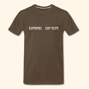 Game Over (Pixelchrome) - Men's Premium T-Shirt
