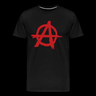 Black Anarchy T-Shirts