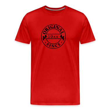 Red original since + your year of birth T-Shirts