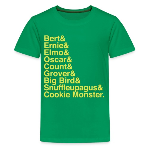 Sesame Street - Kids' Premium T-Shirt