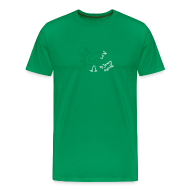 T-Shirts ~ Men's Premium T-Shirt ~ [handturkey]