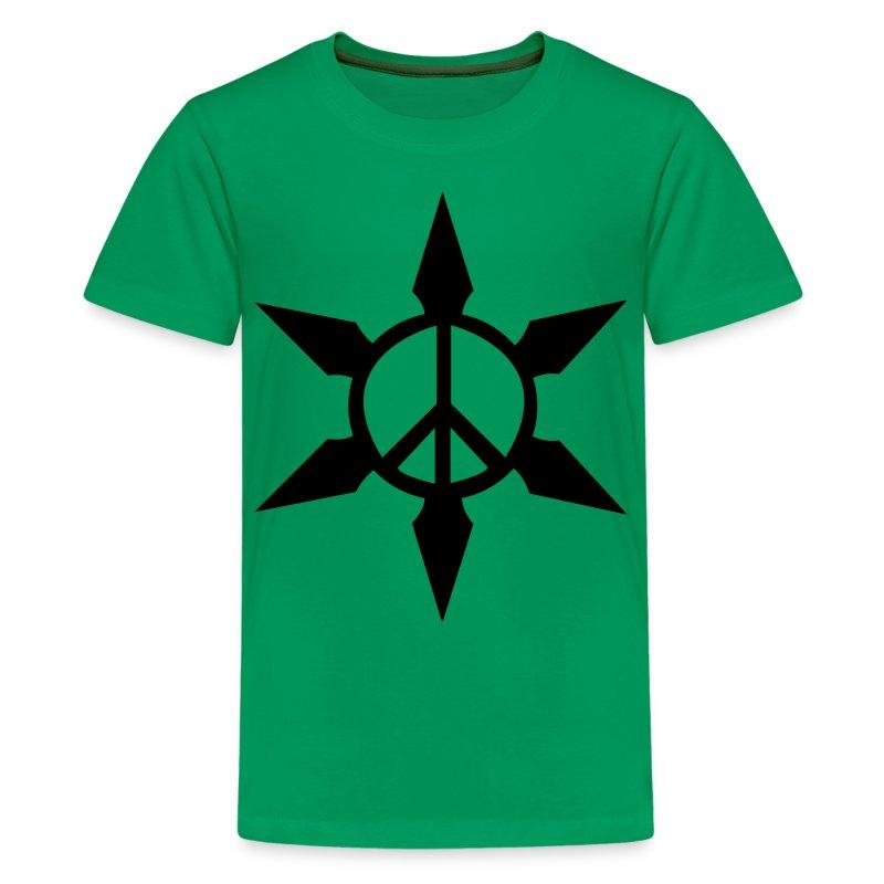 Peace Ninja Star - Kids' Premium T-Shirt