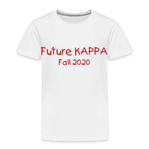 Future Kappa (change colors and text) - Toddler Premium T-Shirt