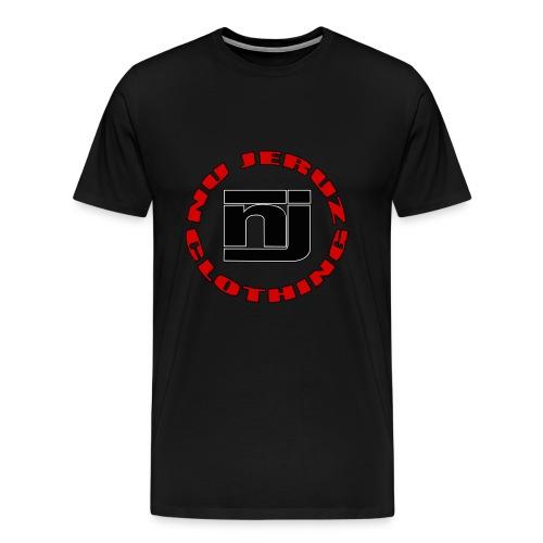 nu jeruz permium round - Men's Premium T-Shirt