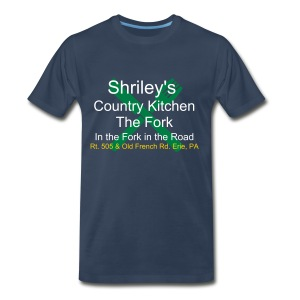 Shirley's Country Kitchen - Fork - Men's Premium T-Shirt