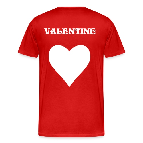 NuFLY valentines day tee - Men's Premium T-Shirt