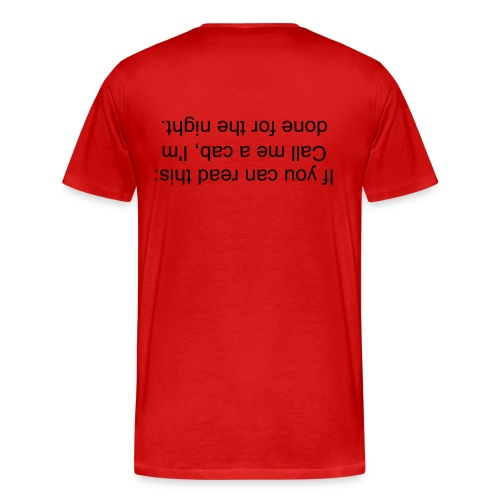 Knowing when to go home - Men's Premium T-Shirt