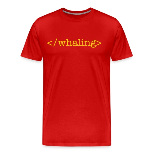 End Whaling - Men's Premium T-Shirt