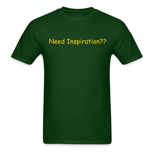 green gold heavyweight t-shirt - Men's T-Shirt