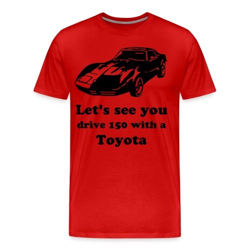 Real American Driving - Men's Premium T-Shirt