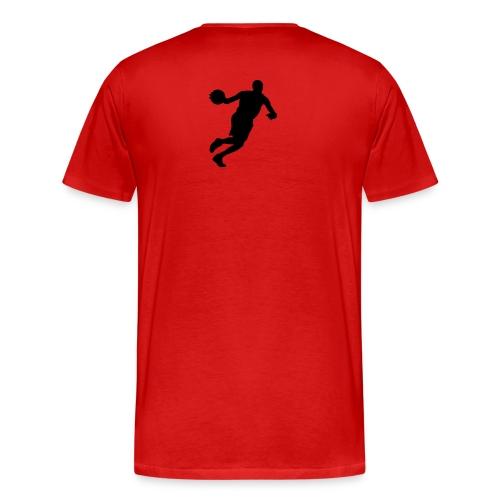 basketball heavyweight t-shirt - Men's Premium T-Shirt