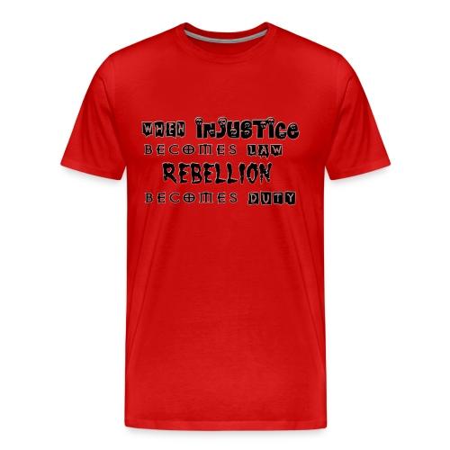 Rebellion - Men's Premium T-Shirt
