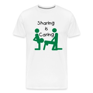 Sharing is Caring - Men's Premium T-Shirt