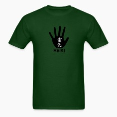 Forest green Reiki T-Shirts