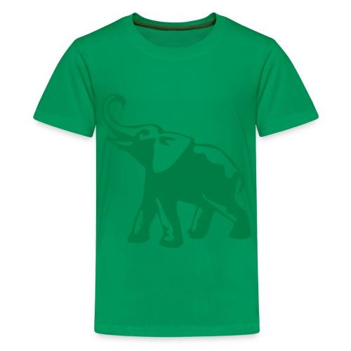 GO GREEN. - Kids' Premium T-Shirt