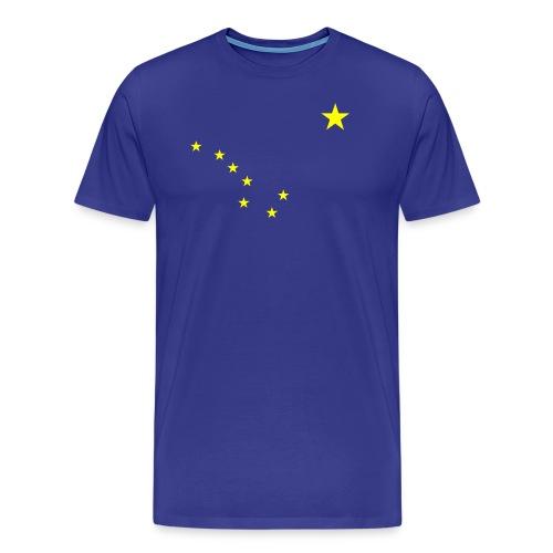 Men's Alaska Big Dipper tee - Men's Premium T-Shirt