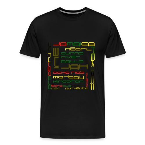 TekOff Authentic Jamaica T-Shirt - Men's Premium T-Shirt