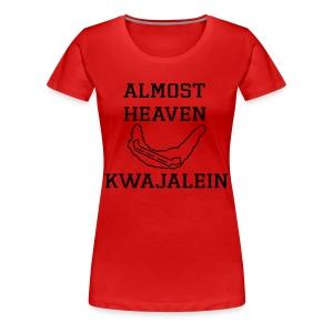 Almost Heaven Big Tee - Women's Premium T-Shirt