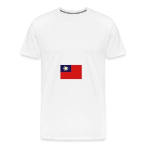 Men's Premium T-Shirt - Classic t-shirt with the flag on the left sleeve. Doesn't get much more simple than that.
